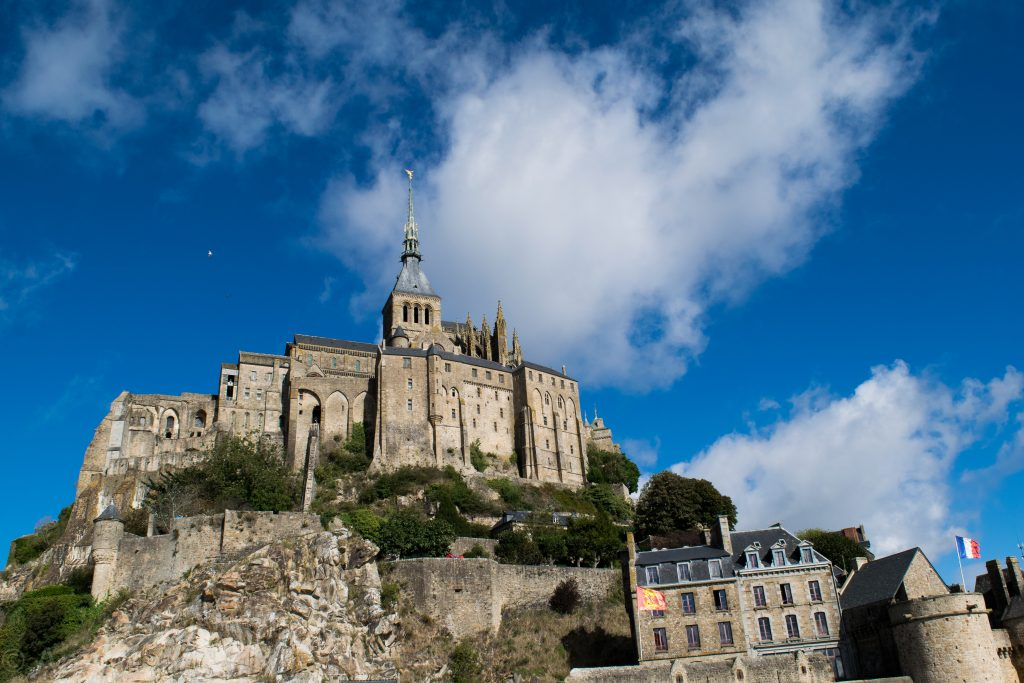 One day in Mont Saint-Michel
