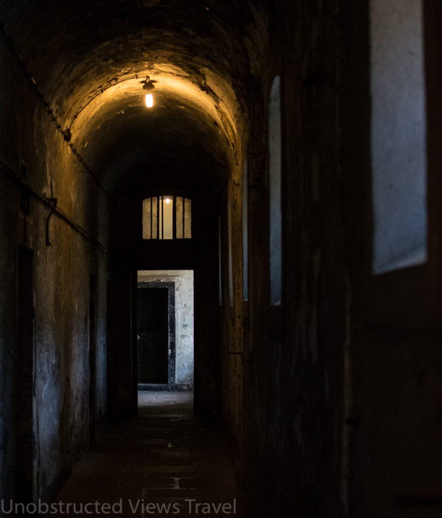 One of the lower hallways