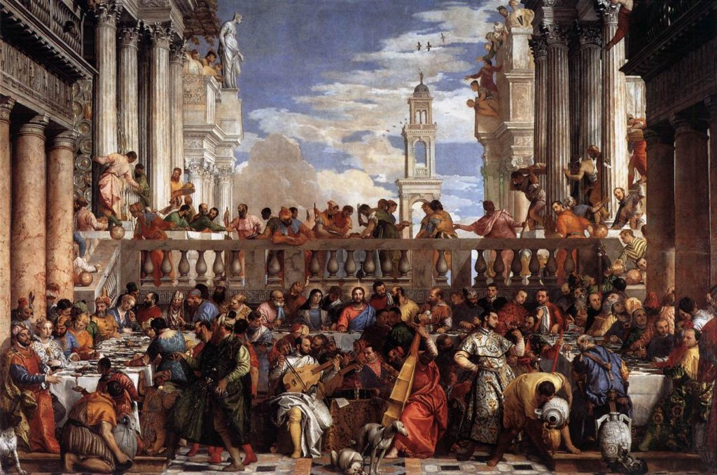 The Wedding at Cana. Image from Wikimedia